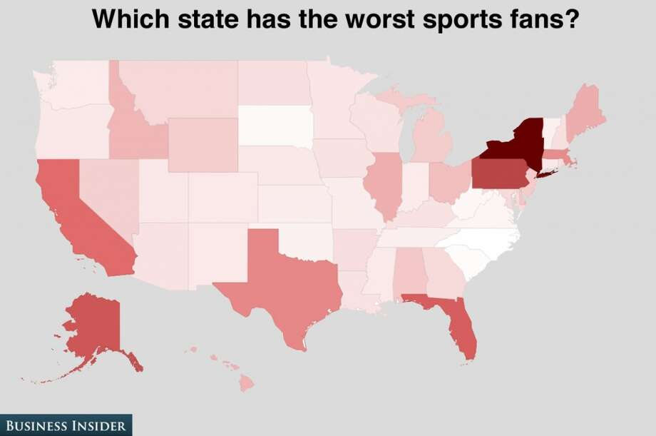 That's weird – normally Yankee fans are so considerate and friendly toward their visiting teams. Photo: Business Insider