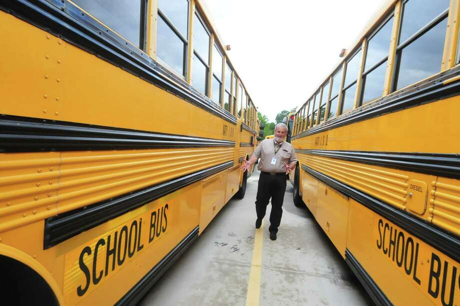 Jim Porter is the Katy Independent School District assistant director for transportation services at the South Transportation Center. Photo: Â Tony Bullard 2013, Freelance Photographer / © Tony Bullard & the Houston Chronicle