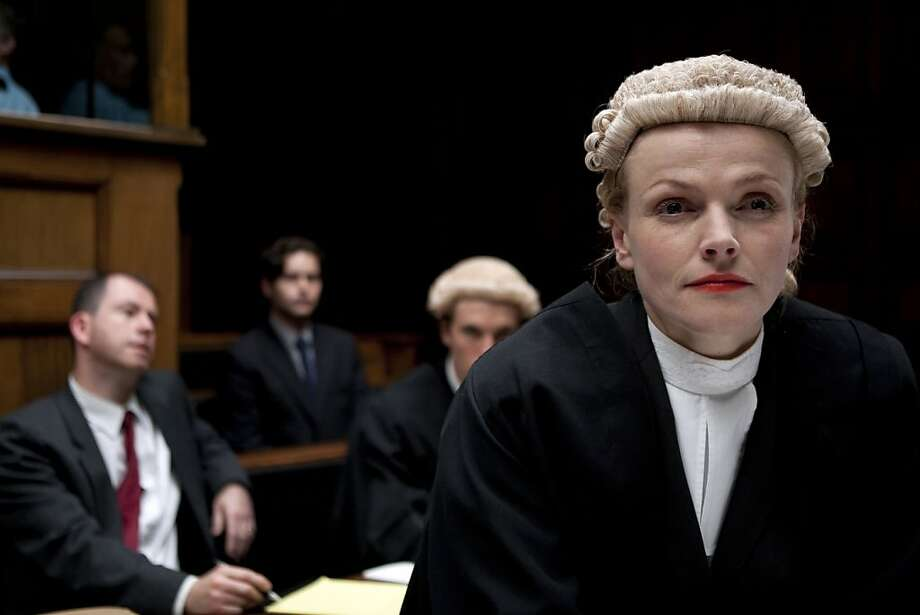 Martha Costello (Maxine Peake) aspires to rise to the rank of queen's counsel, also known as a silk, in the eponymous series. Photo: BBC For Masterpiece, PBS