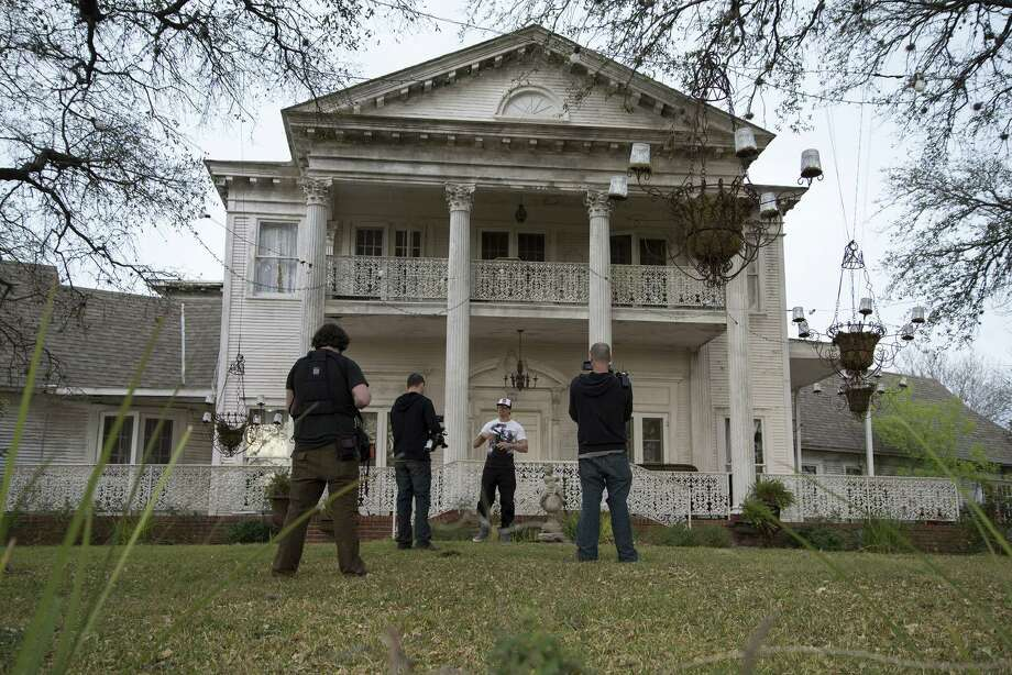 "The ""Ghost Adventures"" crew captured some spooky happenings at San Antonio's Black Swan Inn for an episode Friday on the Travel Channel. Photo: Travel Channel"