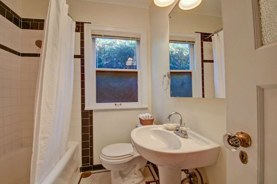 Bathroom of 2616 Queen Anne Ave. N. It's listed for $588,000. Photo: Courtesy Mary Schile, RE/MAX-Metro Realty