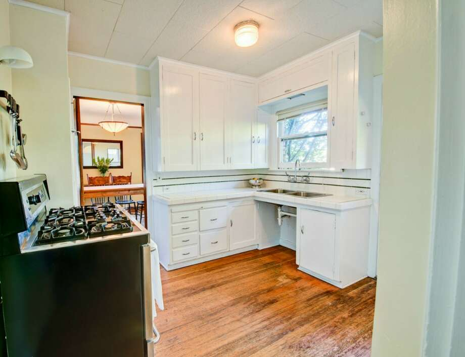 Kitchen of 2616 Queen Anne Ave. N. It's listed for $588,000. Photo: Courtesy Mary Schile, RE/MAX-Metro Realty