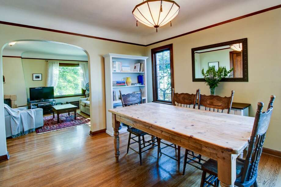Dining room of 2616 Queen Anne Ave. N. It's listed for $588,000. Photo: Courtesy Mary Schile, RE/MAX-Metro Realty