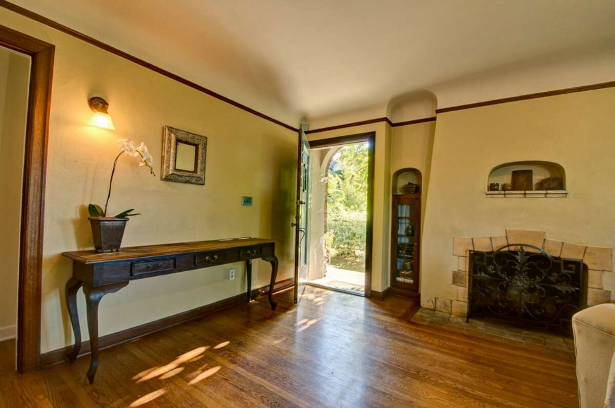 Living room of 2616 Queen Anne Ave. N. It's listed for $588,000.