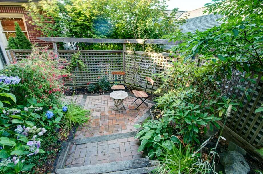 Patio of 2616 Queen Anne Ave. N. It's listed for $588,000. Photo: Courtesy Mary Schile, RE/MAX-Metro Realty