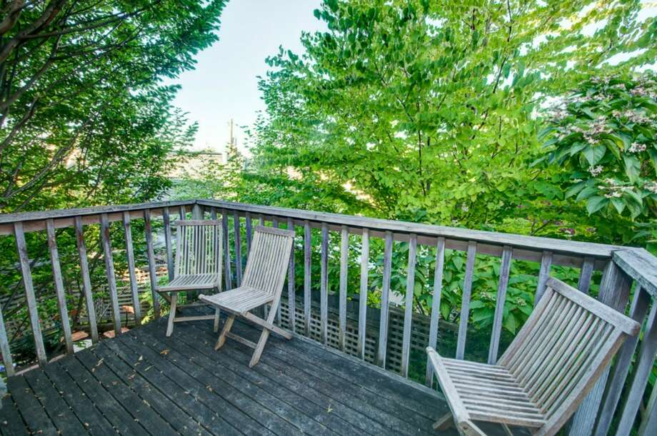 Deck of 2616 Queen Anne Ave. N. It's listed for $588,000. Photo: Courtesy Mary Schile, RE/MAX-Metro Realty