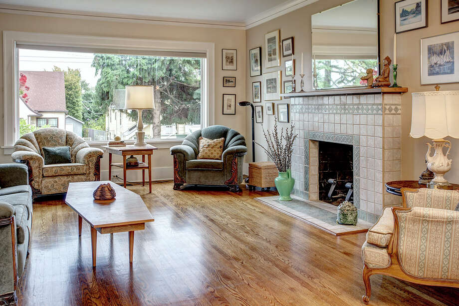 Living room of 2453 4th Ave. W. It's listed for $589,000. Photo: John G. Wilbanks Photography, Courtesy Carrie Simmons, Coldwell Banker Bain