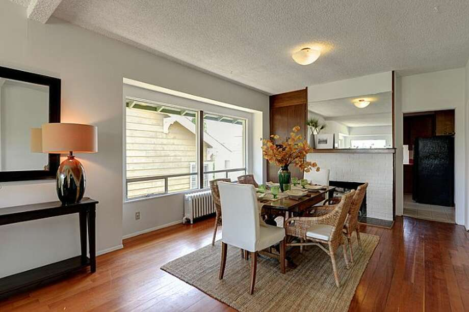 Dining room of 307 W. Blaine St. It's listed for $595,000. Photo: Courtesy Randie Nelson, Windermere Real Estate