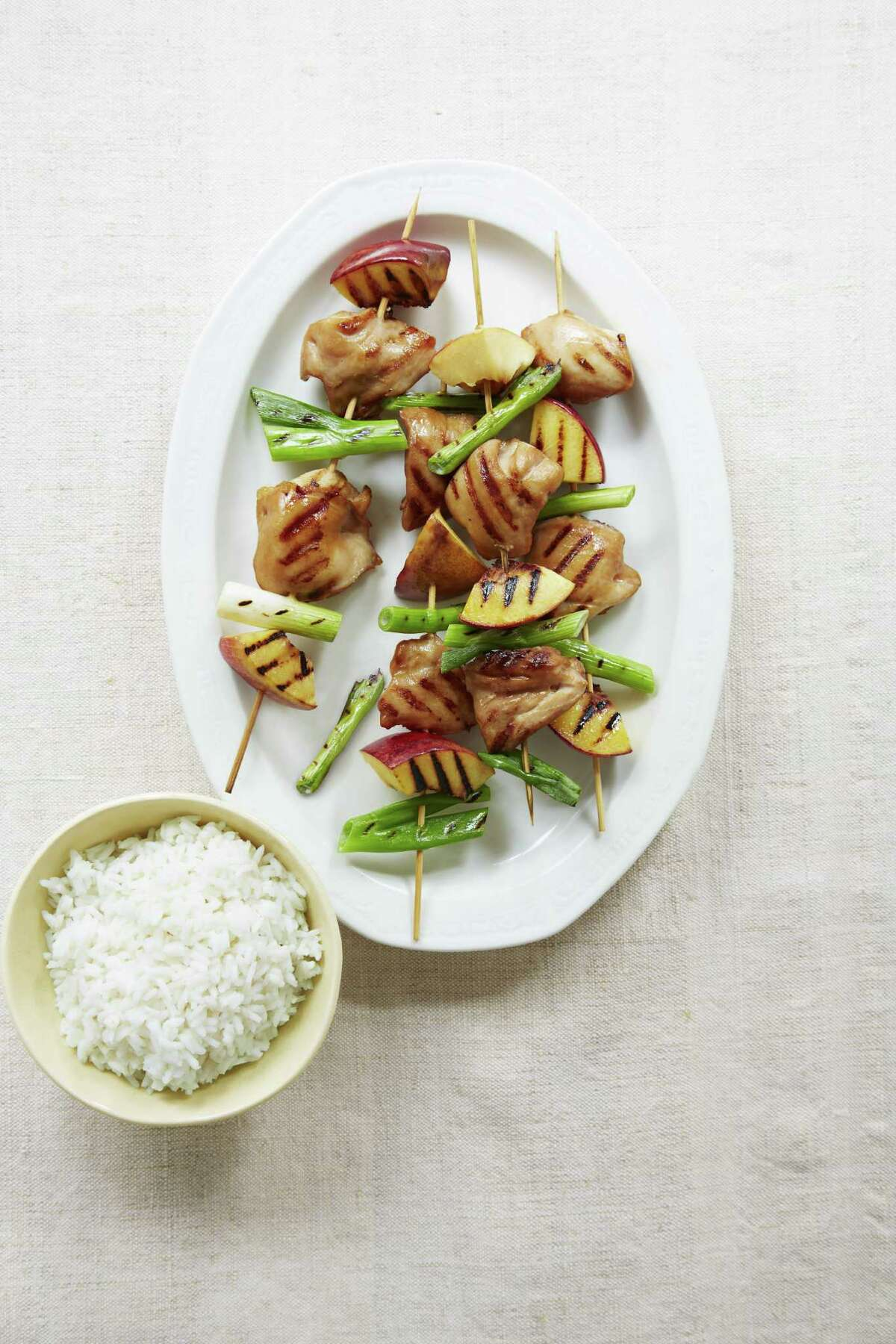 Good Housekeeping recipe for Quick Chicken Kabobs.