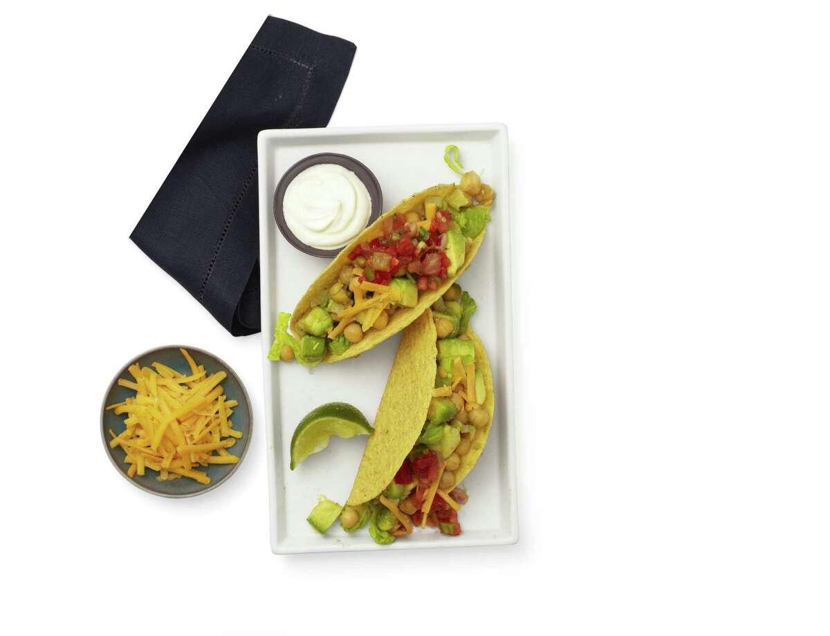 Redbook recipe for Six-Minute Tacos.