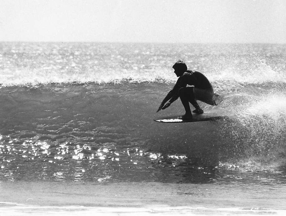 Fred Windisch captured black-and-white images of his fellow surfers along the North Coast starting in the early 1960s. Photo: Fred Windisch, Family Of Fred Windisch