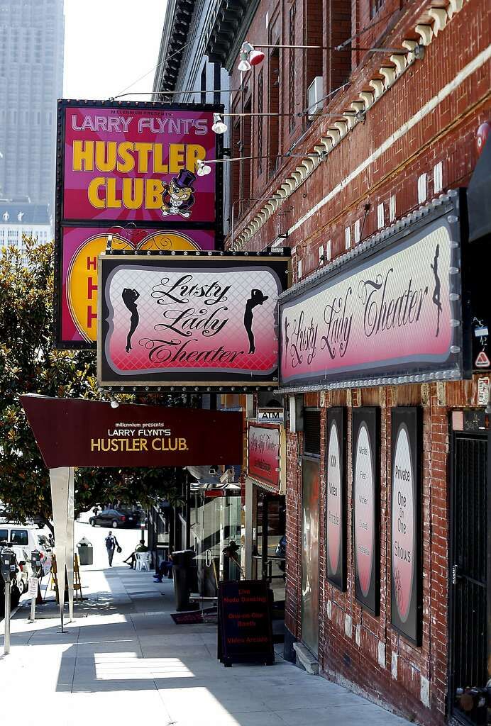 San francisco hustler lusty lady