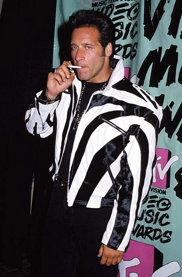 1989: Comedian Andrew Dice Clay arrives. Photo: Jeff Kravitz, FilmMagic, Inc / FilmMagic, Inc