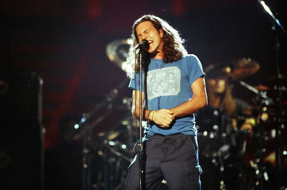 1992: Pearl Jam in rehearsals. Photo: Jeff Kravitz, FilmMagic / FilmMagic, Inc