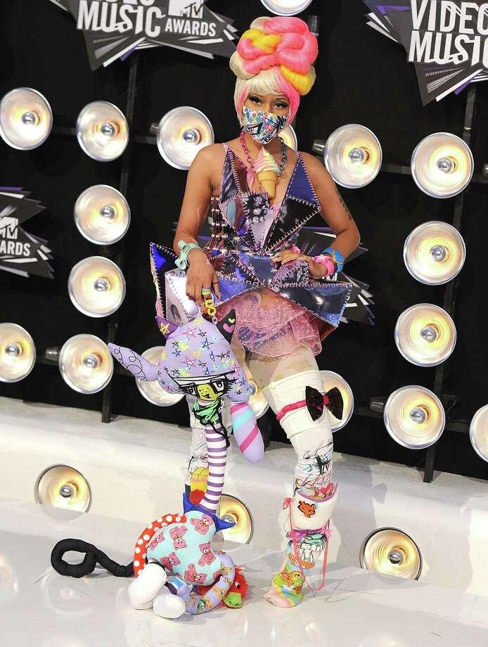 2011:  Nicki Minaj performs. Photo: Steve Granitz, WireImage / 2011 Steve Granitz