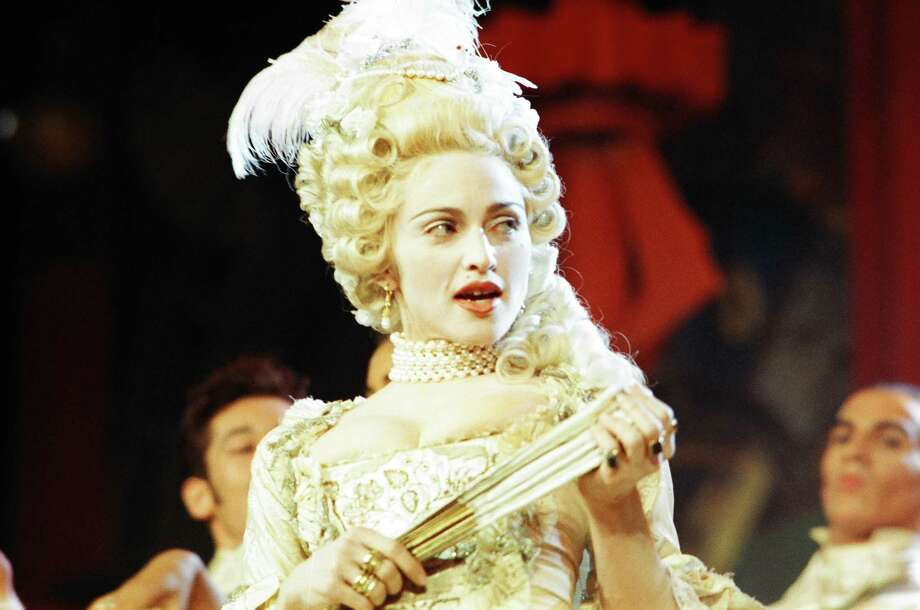 1990: Madonna performs. Photo: Jeff Kravitz, FilmMagic / FilmMagic, Inc