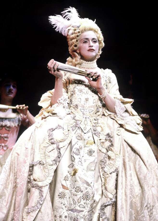 1990: Madonna performs. Photo: Kevin.Mazur, WireImage / WireImage