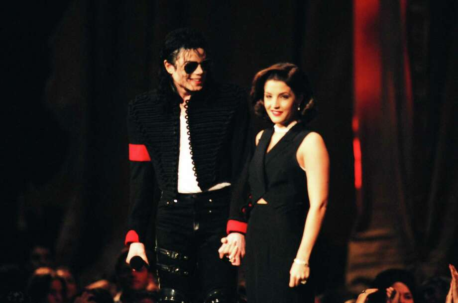 1994: Michael Jackson and Lisa Marie Presley. Photo: Jeff Kravitz, FilmMagic / FilmMagic, Inc