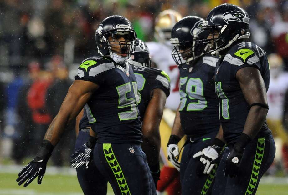 Bobby Wagner is the man, and he knows it. Photo: Steve Dykes, Getty Images