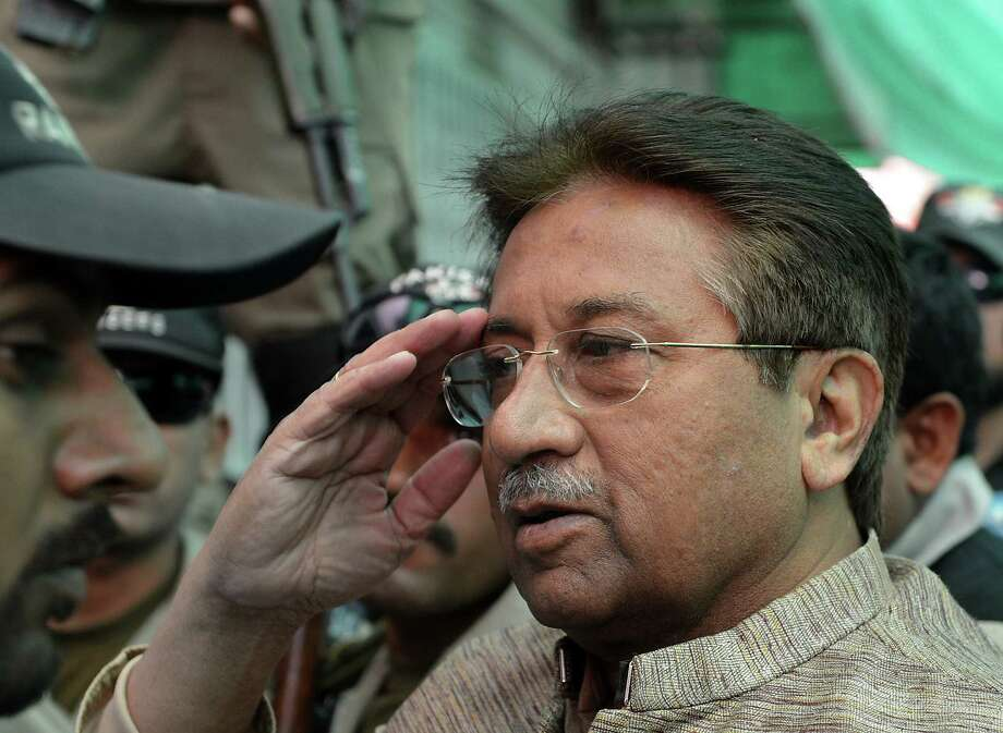 A court filed three charges against former Pakistan President Pervez Musharraf, 70, including murder and conspiracy to murder. Photo: Getty Images / File Photo