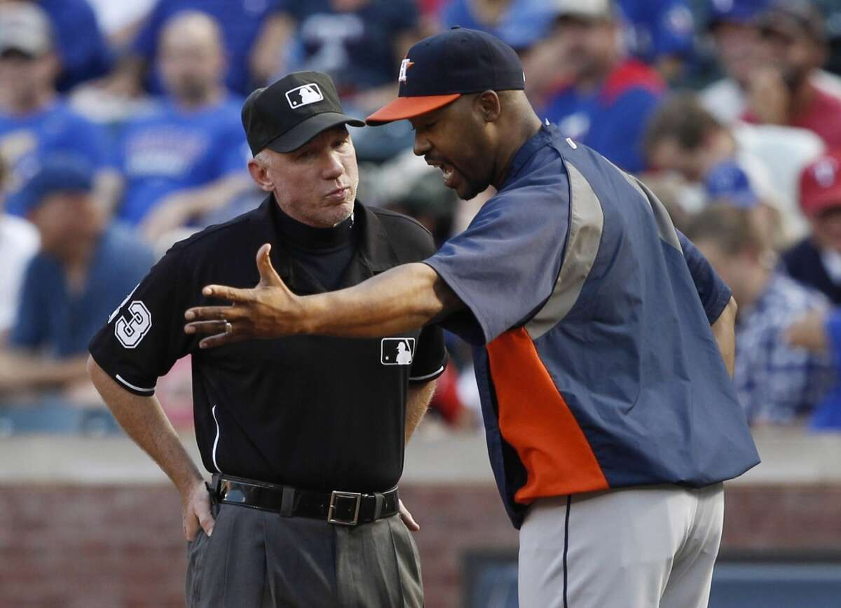 Umpires and referees Umpires, line judges and referees face more than heckling wannabes in the stands these days since instant replay technology lets us judge the judges. While traditionalists view such use of video as more controversial than an ump's