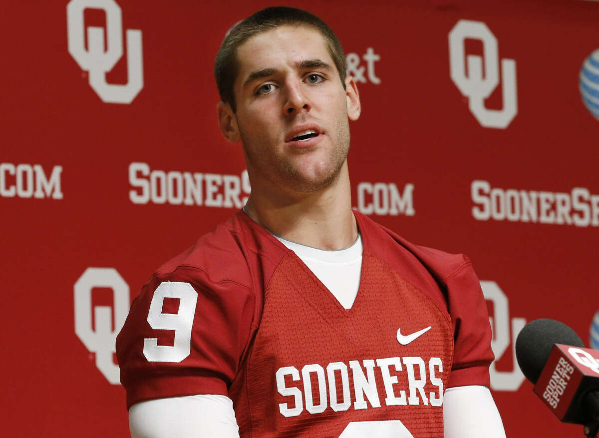 OU's Trevor Knight passed for 2,092 yards and 27 TDs and ran for 943 yards and 15 scores as a senior at Reagan in 2011.