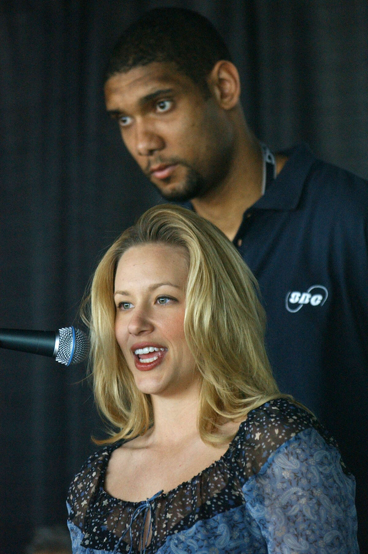 Tim Duncan and Amy Duncan had been college sweethearts at Wake Forest, where he was on the basketball team and she was a cheerleader. They married in 2001.