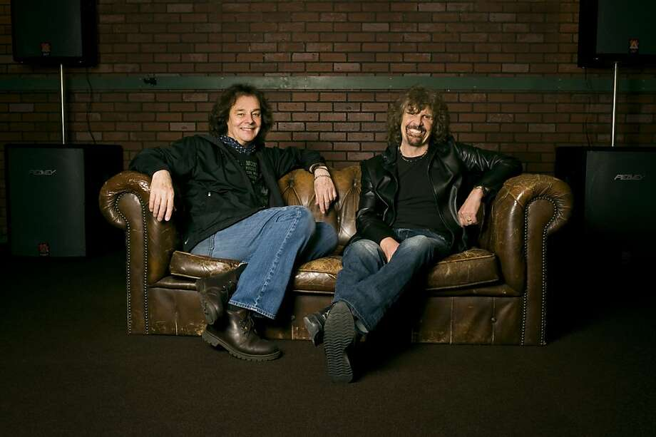 Colin Blunstone (left) and Rod Argent are the sole original members in the touring lineup of the Zombies. Photo: Larry Cinicolo