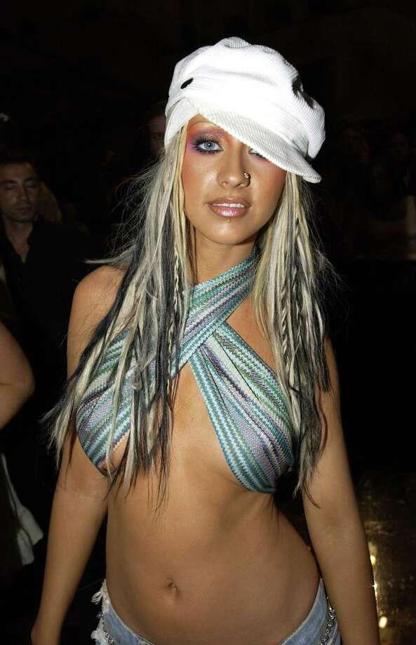 2002: Christina Aguilera in the audience. Photo: KMazur, WireImage / WireImage