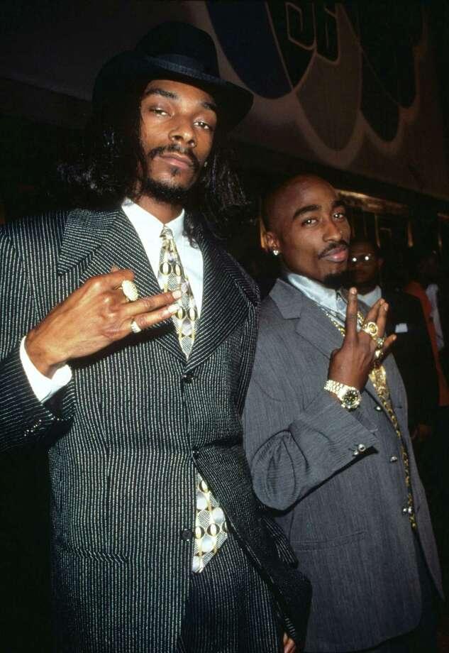 1996: Snoop Dogg and Tupac Shakur. Photo: Kevin.Mazur, WireImage / WireImage