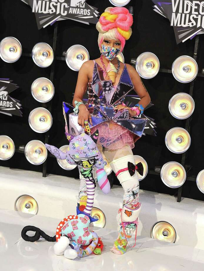 2011:  Nicki Minaj performs. Photo: Steve Granitz, WireImage / 2011 Steve Granitz