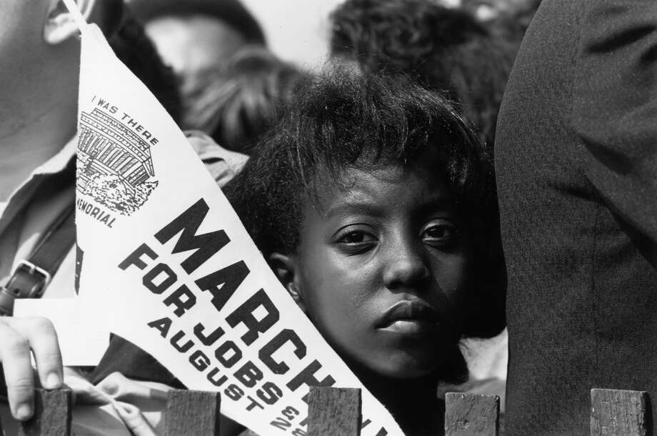 A young marcher during the march for jobs and freedom to the Lincoln Memorial in Washington DC, where Martin Luther King made his famous 'I have a dream' speech. Photo: MPI, Getty Images / Archive Photos