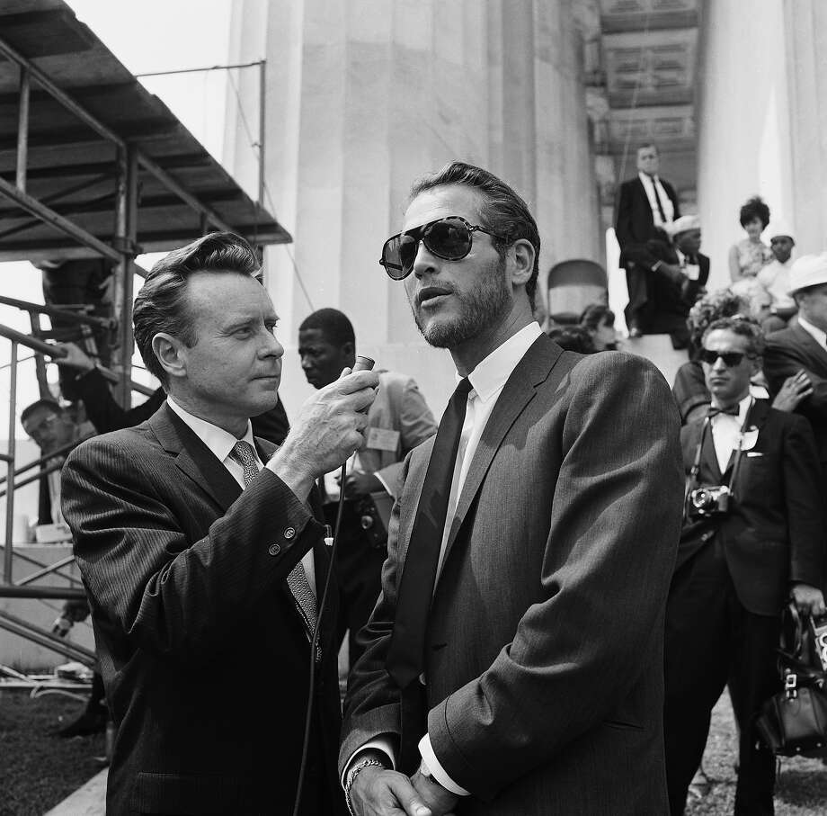 Actor Paul Newman during an interview at Lincoln Memorial during the March on Washington. Photo: NBC, NBCU Photo Bank Via Getty Images / 2012 NBCUniversal Media, LLC