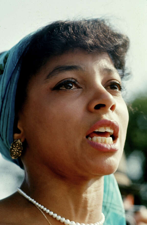 Actress Ruby Dee during the March on Washington for Jobs and Freedom. Photo: Paul Schutzer / Time & Life Pictures