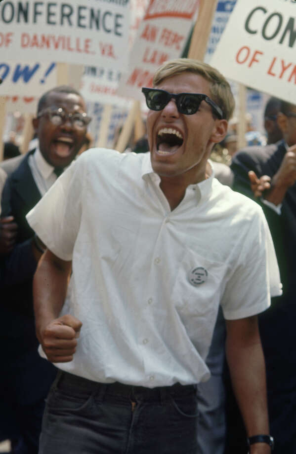 A participant during the March on Washington for Jobs and Freedom, Washington. Photo: Paul Schutzer / Time & Life Pictures
