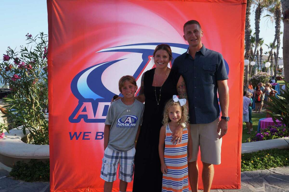 John and Heather Prenatt, pictured with their children Carter and Hayden, own and operate CrossFit Friendswood.