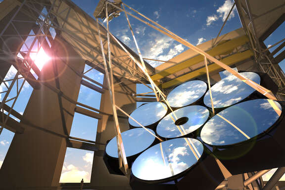 The Giant Magellan Telescope is one of the first three planned of the new generation of these instruments.