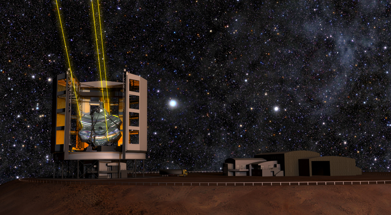 A $1 billion telescope that will take pictures 10 times sharper than Hubble's is now officially under construction