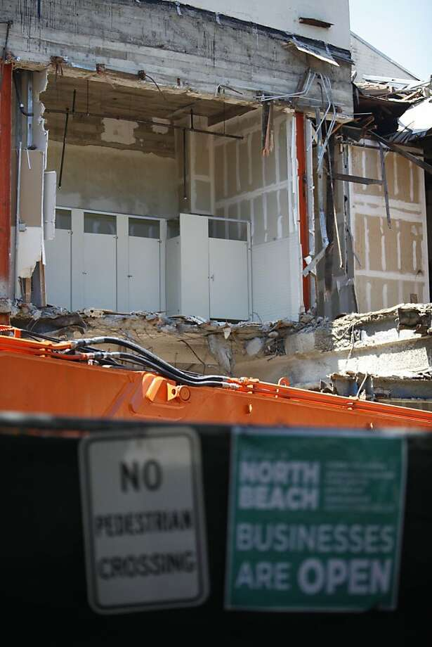The Pagoda Palace was razed for subway construction. Photo: Lea Suzuki, The Chronicle