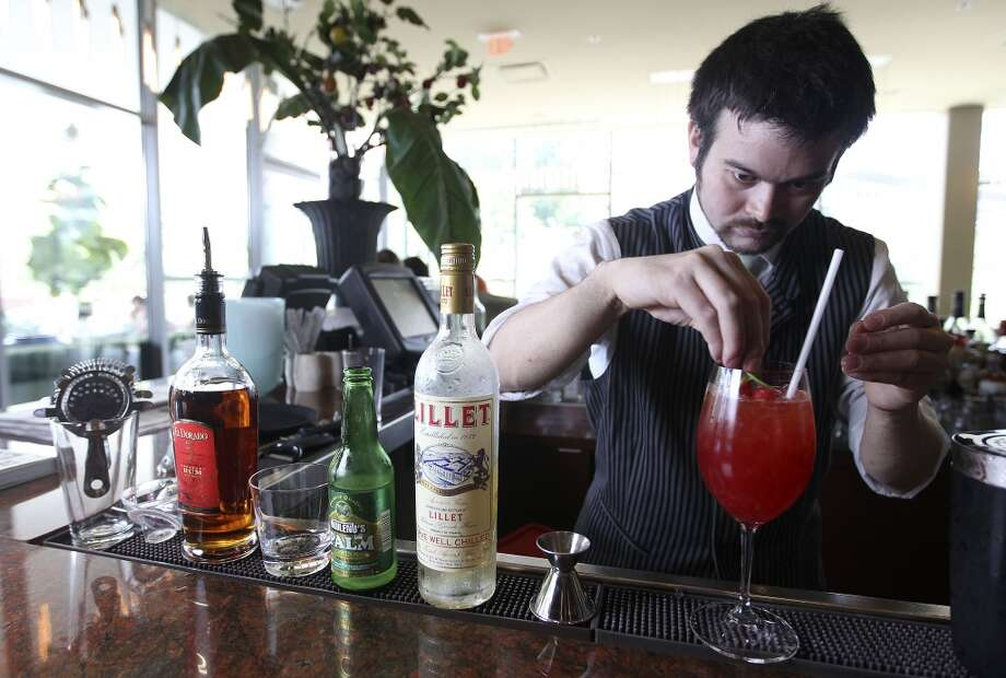 Alcoholic drinks have calories too and if you're not careful, you may end up with a hangover and a slightly rounder waistline.Buzzfeed made a video about the food equivalent of popular drinks, like red wine and beer. Check out the gallery and see what you're drinking ... or eating. Photo: Karen Warren, Houston Chronicle