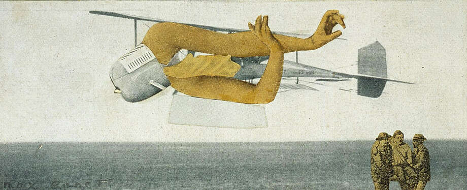 """""""Late Surrealism"""" at the Menil Collection includes """"Untitled"""" by Max Ernst. Photo: Paul Hester"""