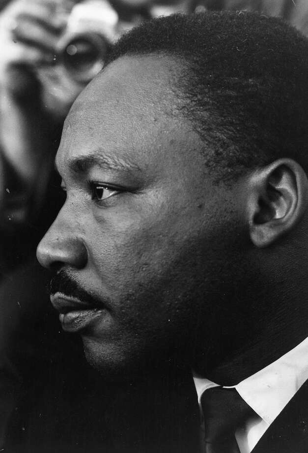 Rev. Martin Luther King Jr. , American clergyman and civil rights campaigner. Photo: William Lovelace, Getty Images / Hulton Archive