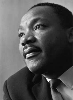 Rev. Martin Luther King Jr. in 1964. Photo: Reg Lancaster, Getty Images / Hulton Archive