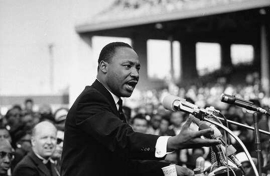 Rev. Dr. Martin Luther King Jr. speaking in 1965. Photo: Julian Wasser, Time & Life Pictures/Getty Image / Julian Wasser