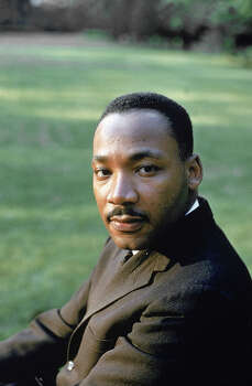 Rev. Martin Luther King Jr., at Atlanta Univ. for SCLC-sponsored student conference in 1960. Photo: Howard Sochurek, Time & Life Pictures/Getty Image / Time Life Pictures