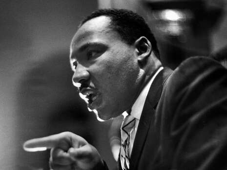 Rev. Martin Luther King Jr. delivering a speech in 1961. Photo: Paul Schutzer, Time & Life Pictures/Getty Image / Time Life Pictures