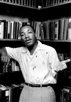 Civil rights leader Rev. Martin Luther King Jr. relaxes at home in May 1956 in Montgomery, Alabama. Photo: Michael Ochs Archives / Michael Ochs Archives
