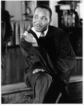 Civil rights leader Rev. Martin Luther King Jr. delivers a sermon on May 13, 1956 in Montgomery, Alabama. Photo: Michael Ochs Archives / Michael Ochs Archives