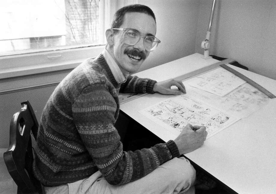 """Bill WattersonThe """"Calvin and Hobbes"""" creator announced in 1995 that he would no longer produce the beloved comic strip.  He was 38. Photo: C.H. PETE COPELAND, AP"""