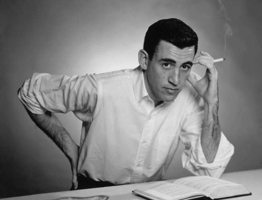 "J.D. Salinger The literary world's most famous recluse published only three books (""Nine Stories,"" ""Franny and Zooey"" and ""Raise High the Roof Beam, Carpenters and Seymour: An Introduction) after ""The Catcher in the Rye"" came out in 1951. ""Salinger,"" a documentary about the writer, who died in 2010, is now playing in Houston. Photo: San Diego Historical Society, Getty Images"